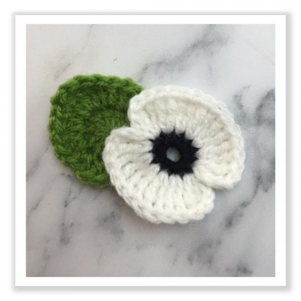 Remembrance Poppies - White