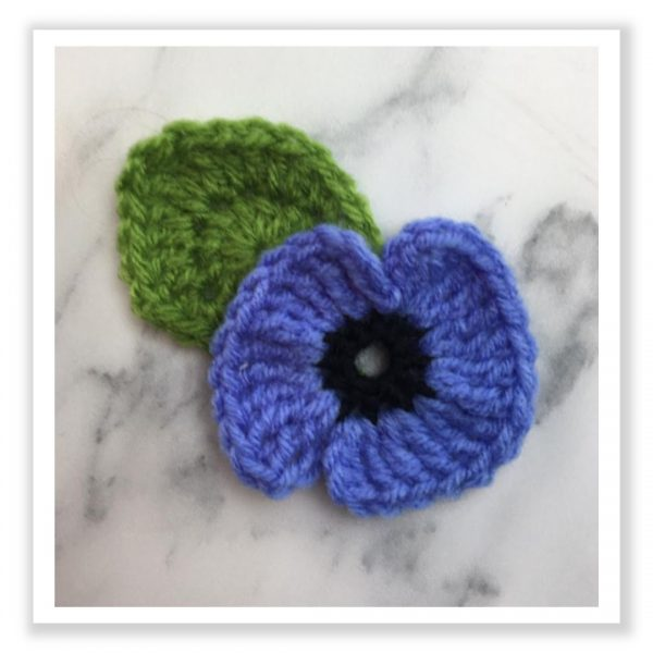 Remembrance Poppies - Blue