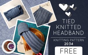 TIED KNITTED HEADBAND (2034)