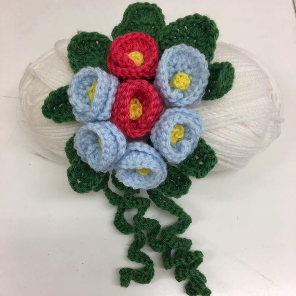 Floral corsage