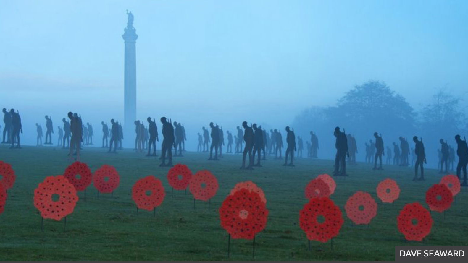 Silhouettes and Poppy Wreaths