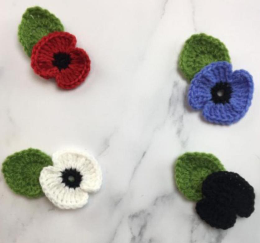 Crochet Poppies