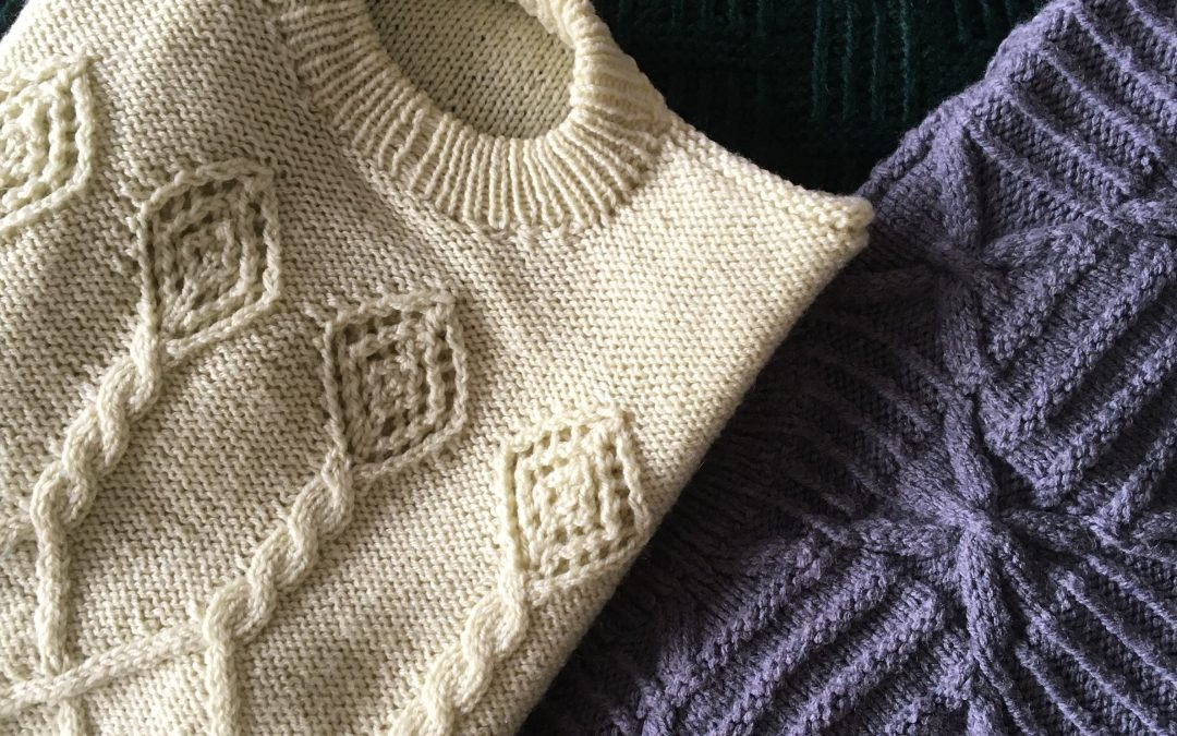Hand Knitting: 6 interesting techniques