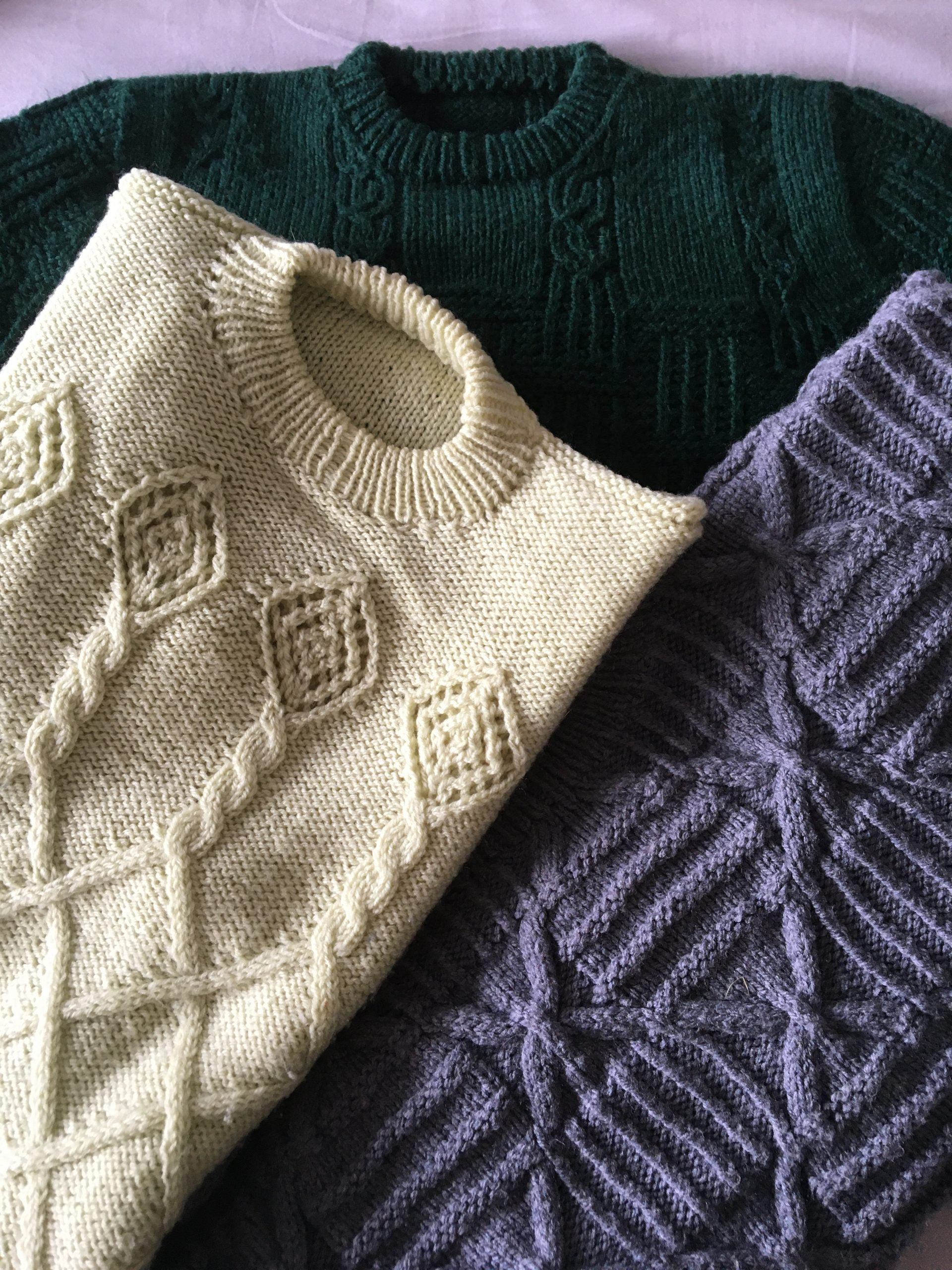 Knitting textures