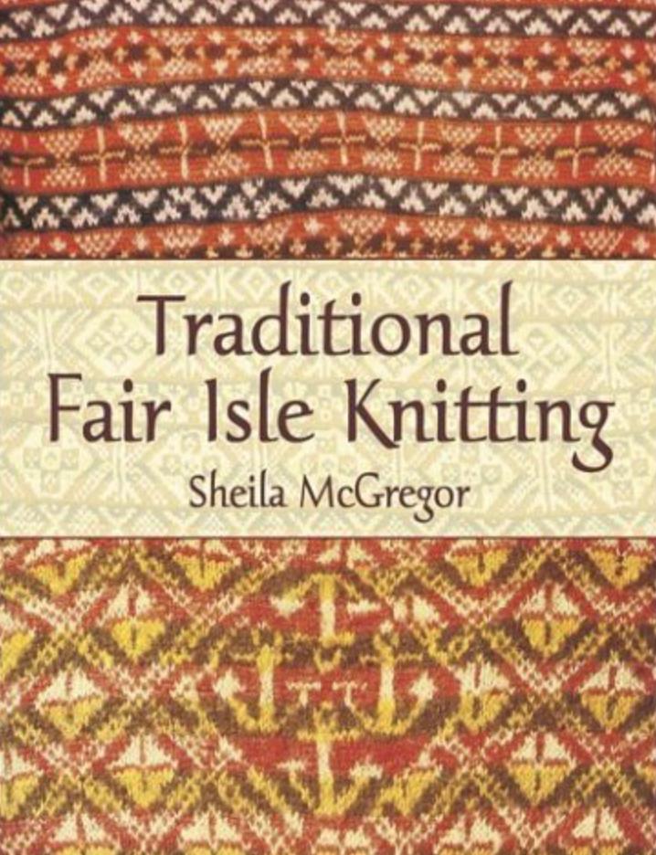 Fair Isle knitting book