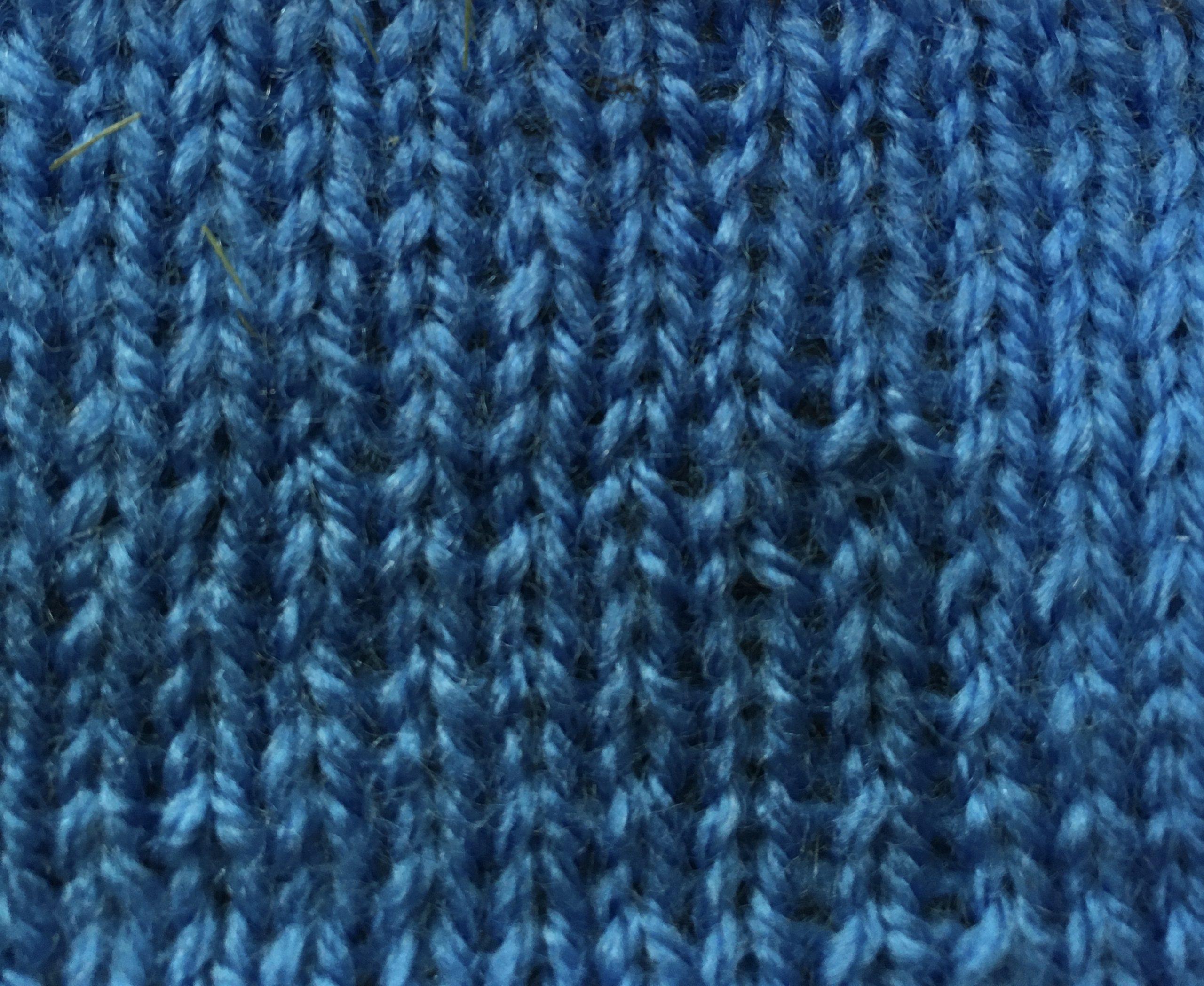 Stocking stitch